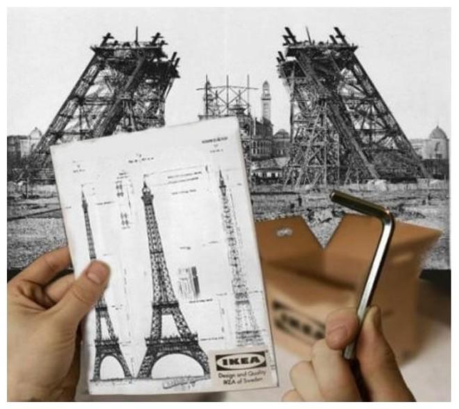 Ikea-Eiffel-Tower