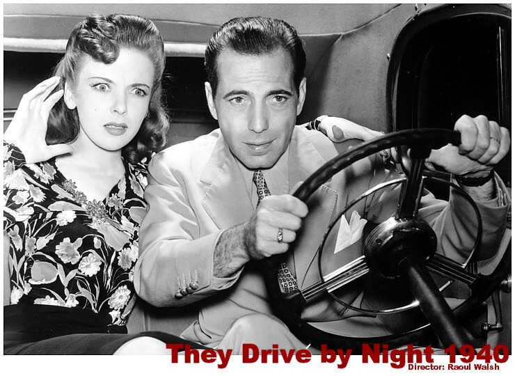 They Drive by Night 1940logo