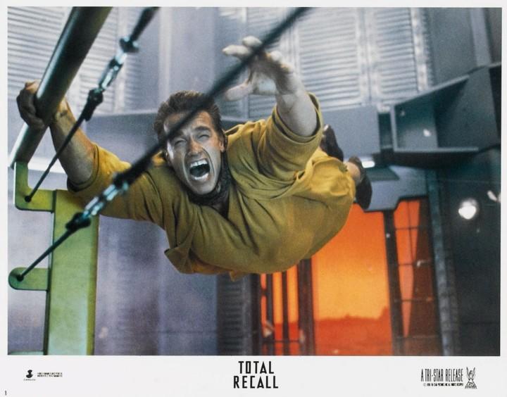 Total Recall 1990 lobbycard