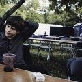 Jake Bugg backstage at Ziker Park, Texas